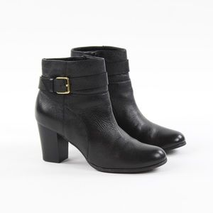 Cole Haan Rhinecliff Ankle Buckle Zip Boot Booties
